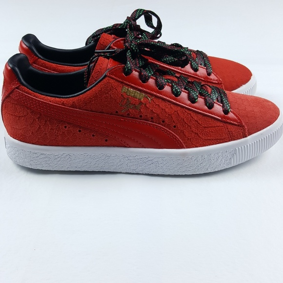 reputable site 68447 8b6b7 PUMA Women's Clyde GCC Low Top Sneakers NWT